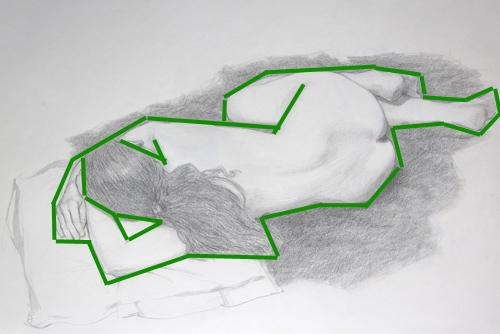 comment dessiner d'après modèle vivant
